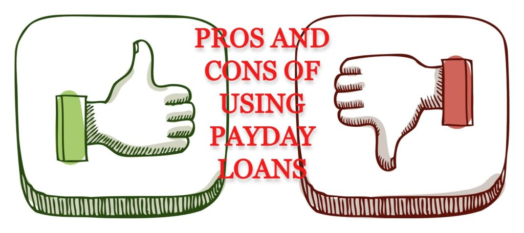 Pros and Cons Online Payday Loans